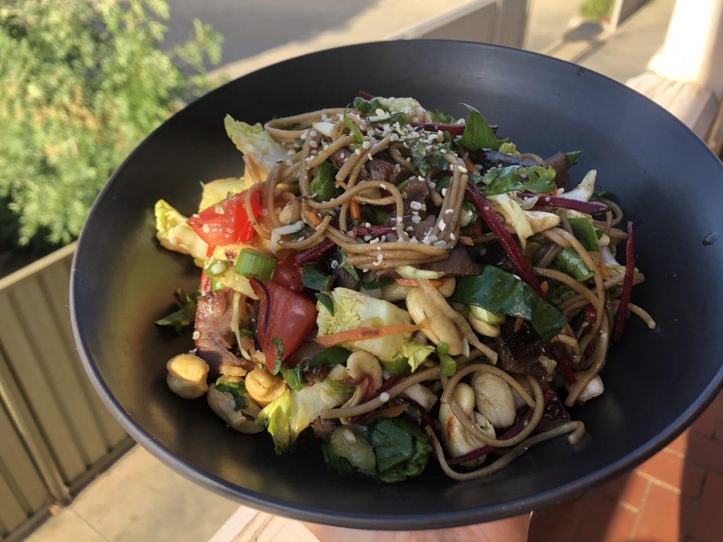 Beef & Soba Noodle Salad