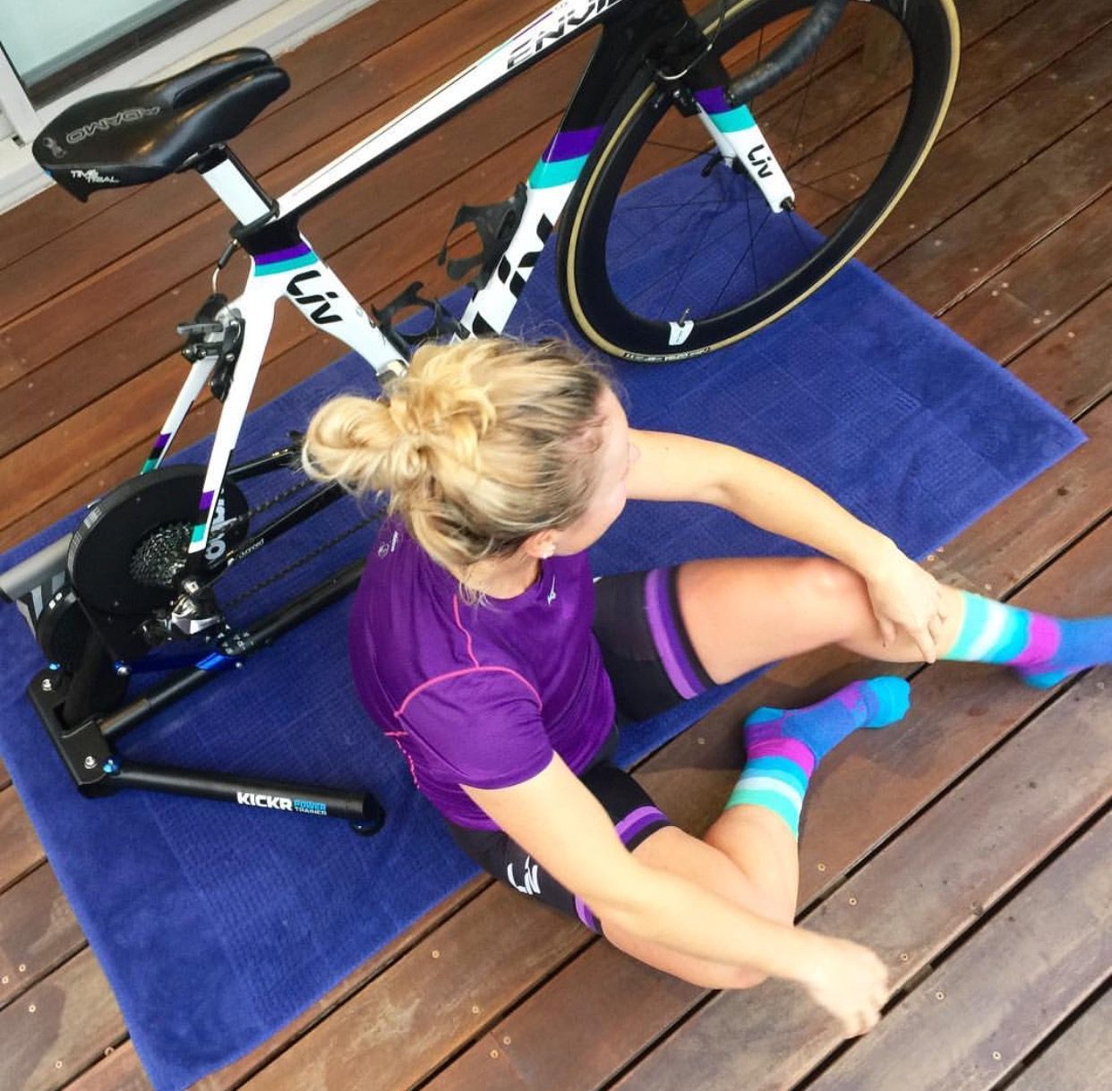 Is preparing to be a first time mum just like prepping for your first Ironman?