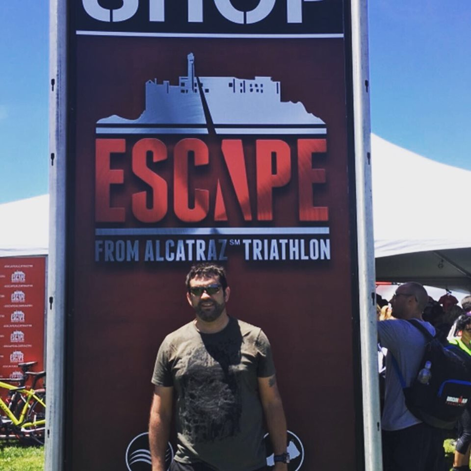 Bucket list race: Escape from Alcatraz