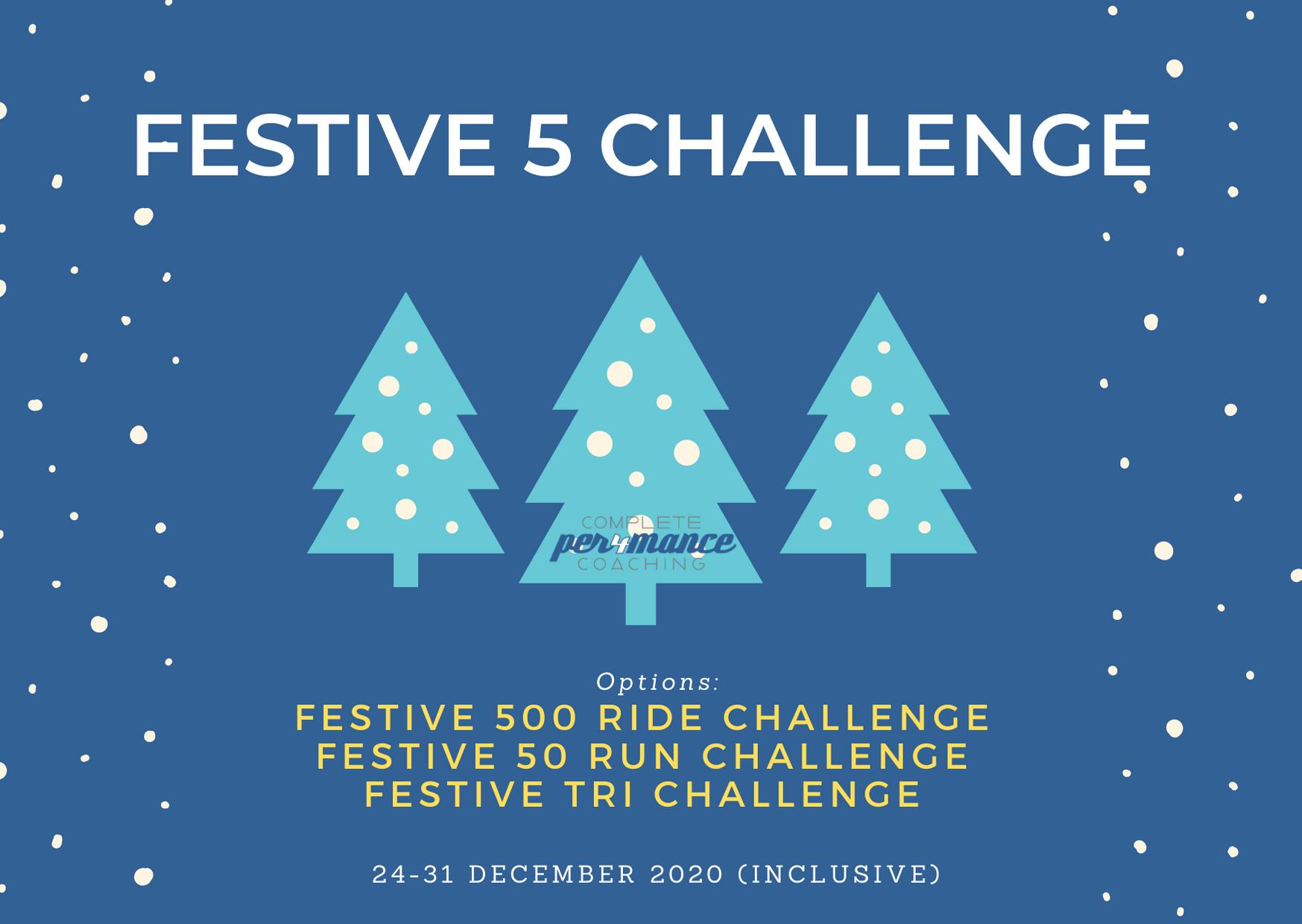 The Festive 5 Challenge